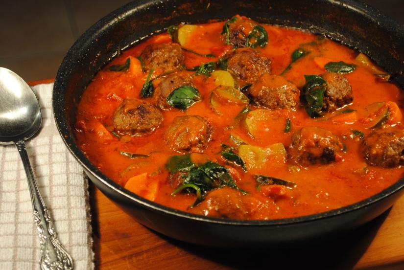 Beef Meatball Ragout