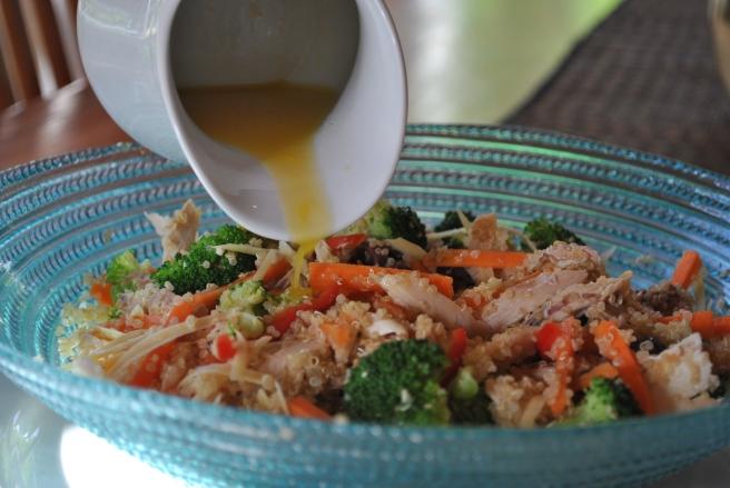 Roast Chicken and Quinoa Salad