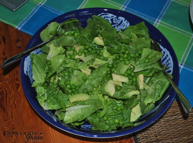 Pea and Avocado Salad