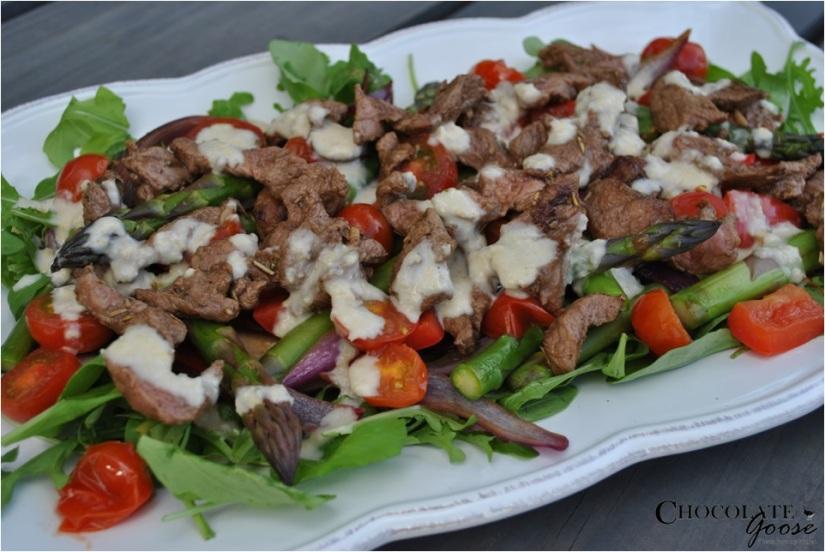 Spring Lamb Salad