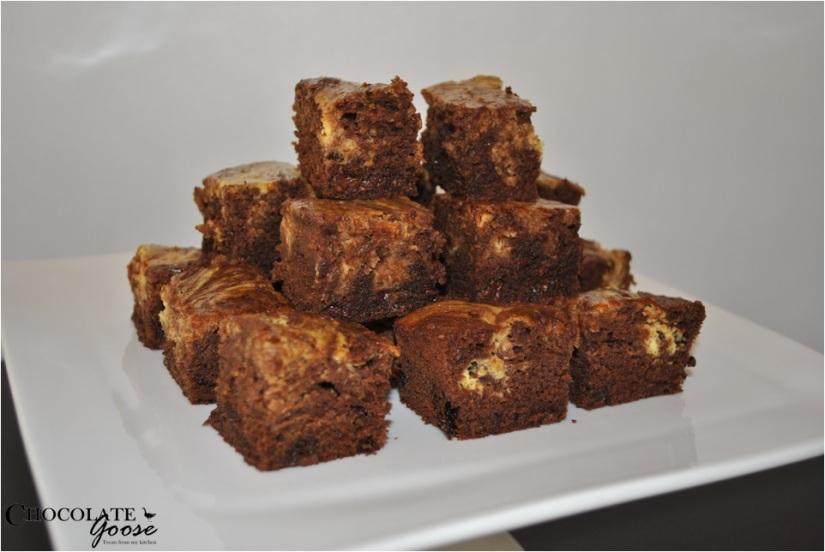Cheesecake Chocolate Brownies