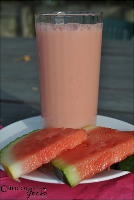 Watermelon and Coconut Water Smoothie