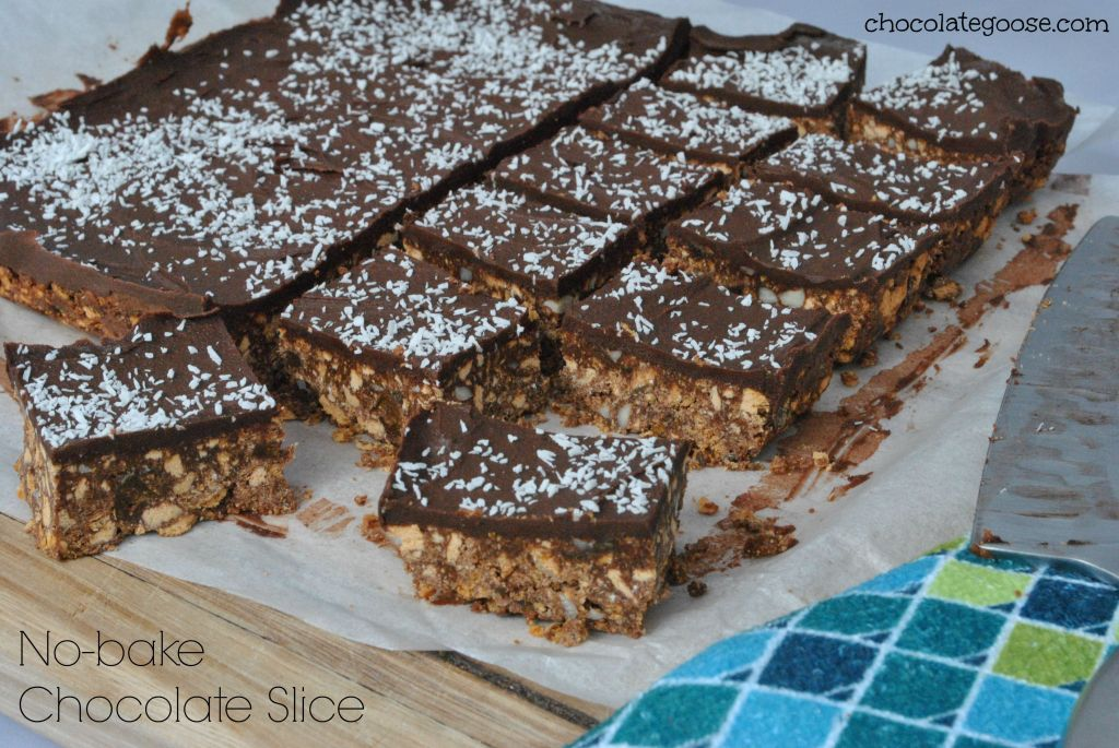 No-bake Chocolate Slice