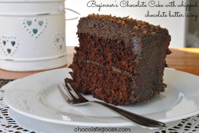 Beginner's Chocolate Cake