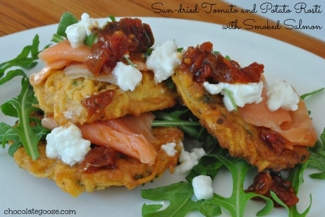 Sun-dried Tomato and Potato Rosti