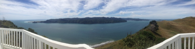 Panorama of Manukau Harbour