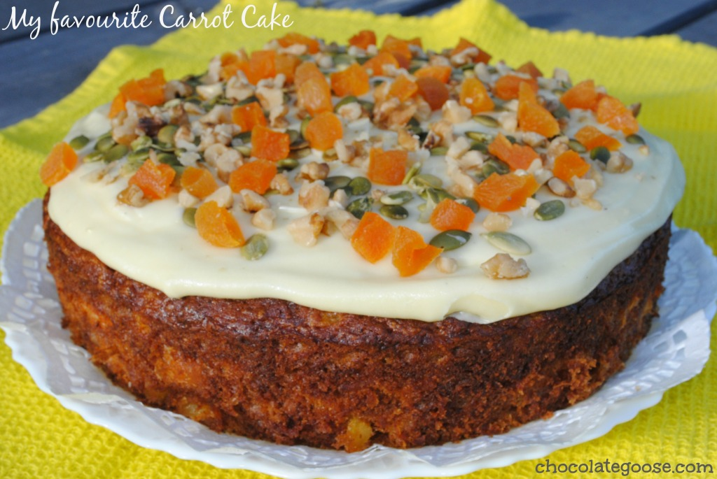 My favourite carrot cake