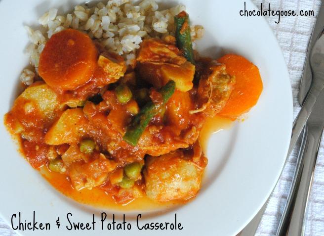 Chicken & Sweet Potato Casserole