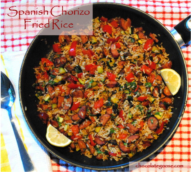 Spanish Chorizo Fried Rice