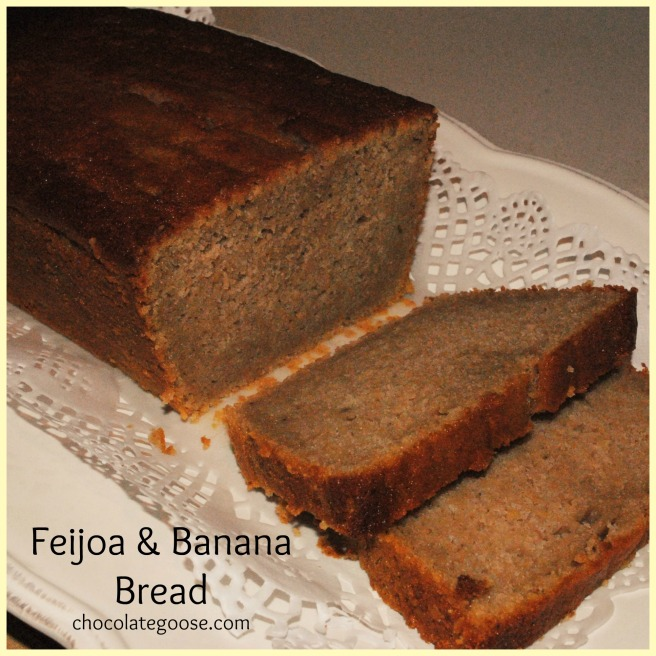 Feijoa and Banana Bread