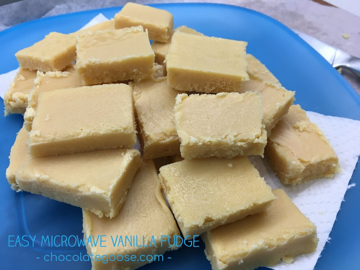 Easy Microwave Vanilla Fudge
